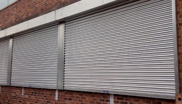 Galv Shop front shutter